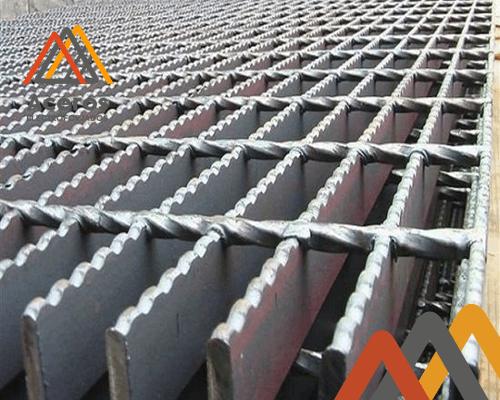 rejilla industrial de acero