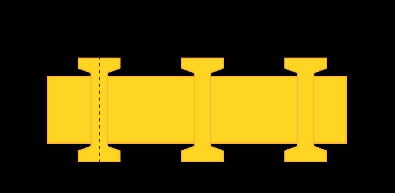 Estructura de la rejilla pultruida RGI-6010