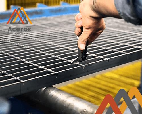Distribución nacional de rejilla de acero electroforjado
